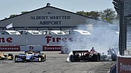 IndyCar St. Pete - Alle crashes en spins