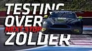 Testing over - next stop Zolder
