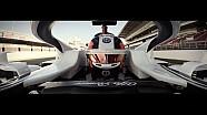 2018 Alfa Romeo Sauber F1 takımı klibi