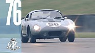 Epic Shelby Daytona coupe lap at Goodwood