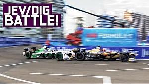 JEV vs Di Grassi: Best Battle in ABB Formula E History?