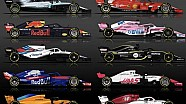 2018 F1 Spotter Guide