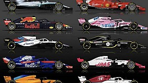 Spotter Guide F1 2018