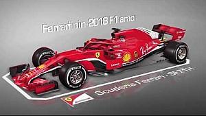 F1 2018: Ferrari SF71H vs Ferrari SF70H