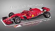 A Ferrari fejlesztései: 2017 vs. 2018