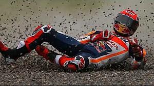 Kecelakaan Marc Marquez | MotoGP Argentina 2017