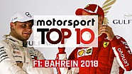 Top 10: F1 Grand Prix van Bahrein