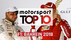 Top 10: F1 Grand Prix van Bahrein