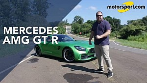 Andamos no Mercedes AMG GT R, o safety car da F1