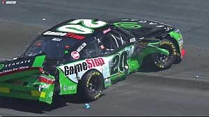 Christopher Bell sideswipes pair of cars, ending Dash 4 Cash hopes