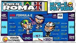 El ePrix de Roma 2018, por 'MinEDrivers'