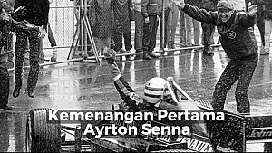 Kemenangan Pertama Ayrton Senna   Racing Stories