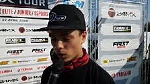 L'interview du vainqueur en Espoirs 85cc