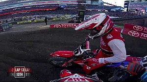 Vince Friese main event 2018 Monster Energy Supercross from Foxborough