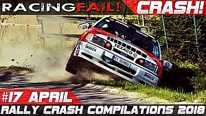 Racing and rally crash compilation week 17 April 2018