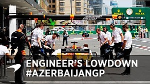 Engineer's lowdown with Will Joseph | Azerbaijan GP