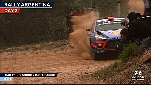 Rally Argentina day two - Hyundai Motorsport
