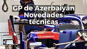 Las mejoras técnicas del GP de Azerbaiyán de Fórmula 1 ESP