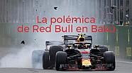 La polémica de los Red Bull en Bakú ESP