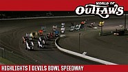 World of Outlaws Craftsman sprint cars Devils Bowl speedway April 27, 2018 | Highlights