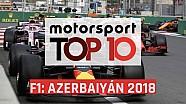 El TOP 10 del GP de Azerbaiyán 2018 de F1
