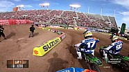 Shane Mcelrath main event 2018 Monster Energy Supercross from Salt Lake City