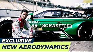 New aerodynamics explained by Mike Rockenfeller - DTM exclusive