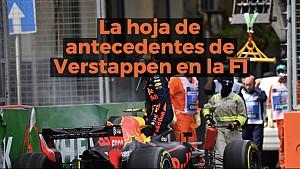 Los antecedentes de Max Verstappen en F1 ESP