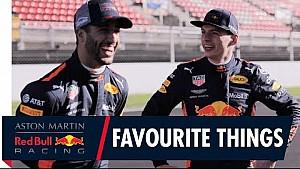 Daniel Ricciardo y Max Verstappen comparten sus cosas favoritas