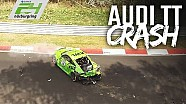 24h Nürburgring: Qualifying-Crash