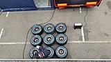 RB8 van Max Verstappen draait warm op Zandvoort