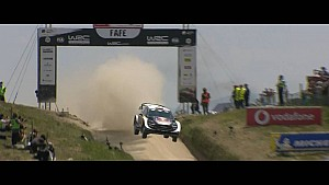 WRC Vodafone Rally Portugal Highlights - Day 3