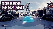 Un tour à Berlin avec Nico Rosberg en 360° au volant de la Formule E Gen2