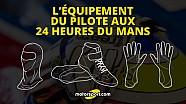 L'équipement des pilotes aux 24 Heures du Mans