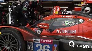 24 Heures du Mans - Arrêt au stand de la G-Drive Racing #26