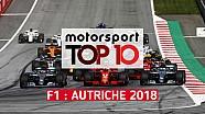 Top 10 - Grand Prix d'Autriche
